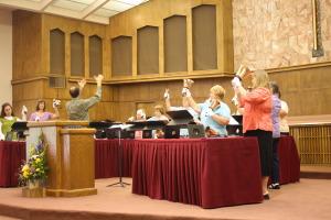 WNA, CWU-May Friendship Day, worship 129