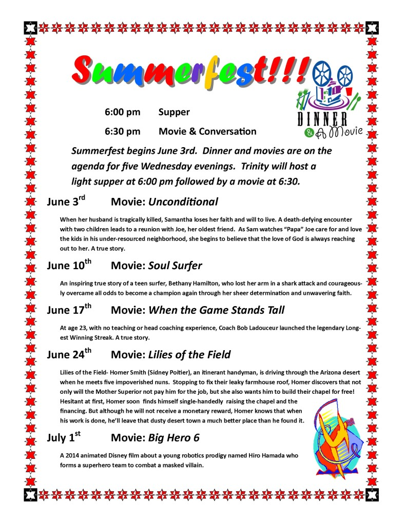 Summerfest Flyer 2015